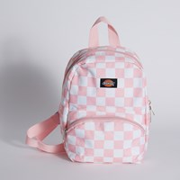 Mini Festival Bag in White Checker