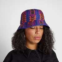 '92 Rage Sun Stash Bucket Hat in Black