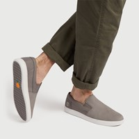Men's Groveton Slip-Ons in Grey