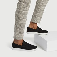 Men's Groveton Slip-Ons in Black