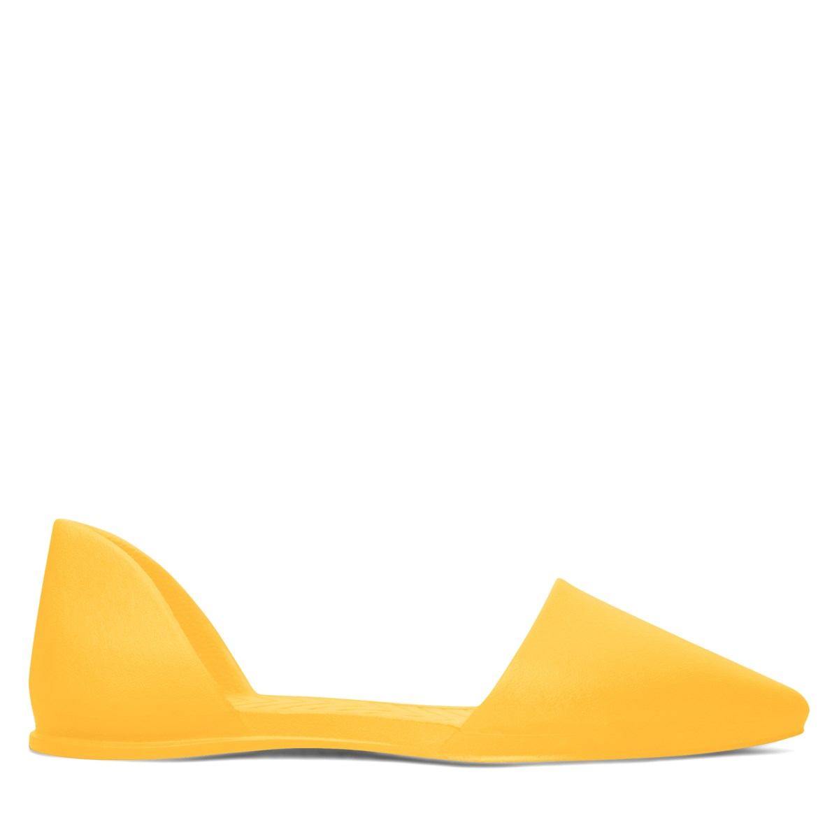 Women's Audrey Flats in Yellow