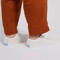 Jefferson Slip-ons in White