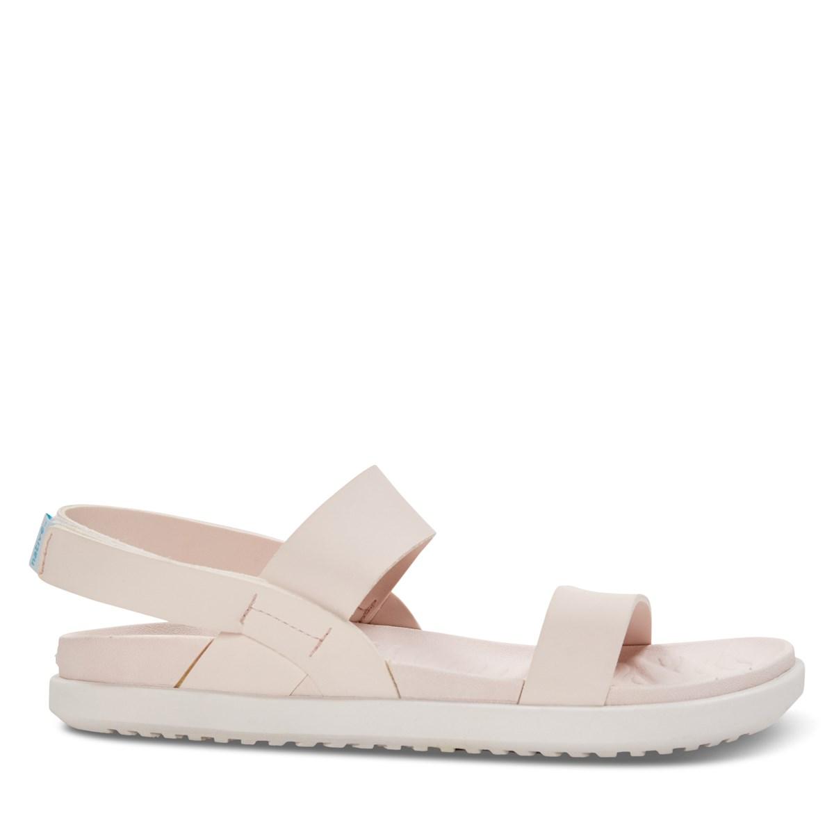 Sandales à sangles Ellis rose pâle pour femmes
