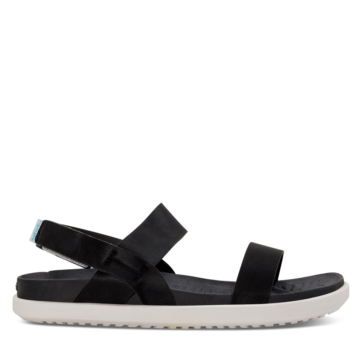 Women's Ellis Strapped Sandals in Black