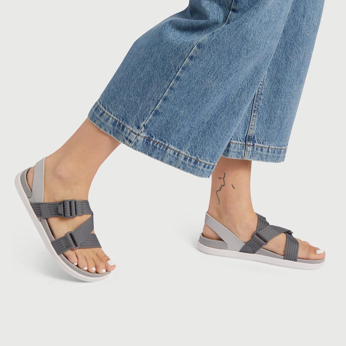 Women's Zurich Sandals in Grey