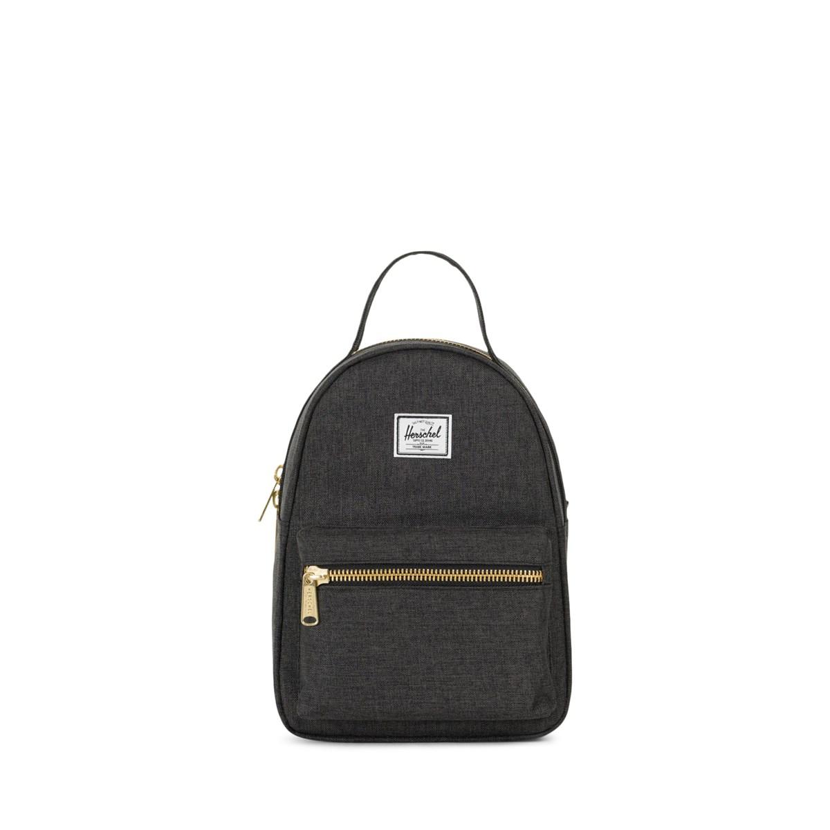 154aad073fc0 Nova Mini Backpack in Black Crosshatch