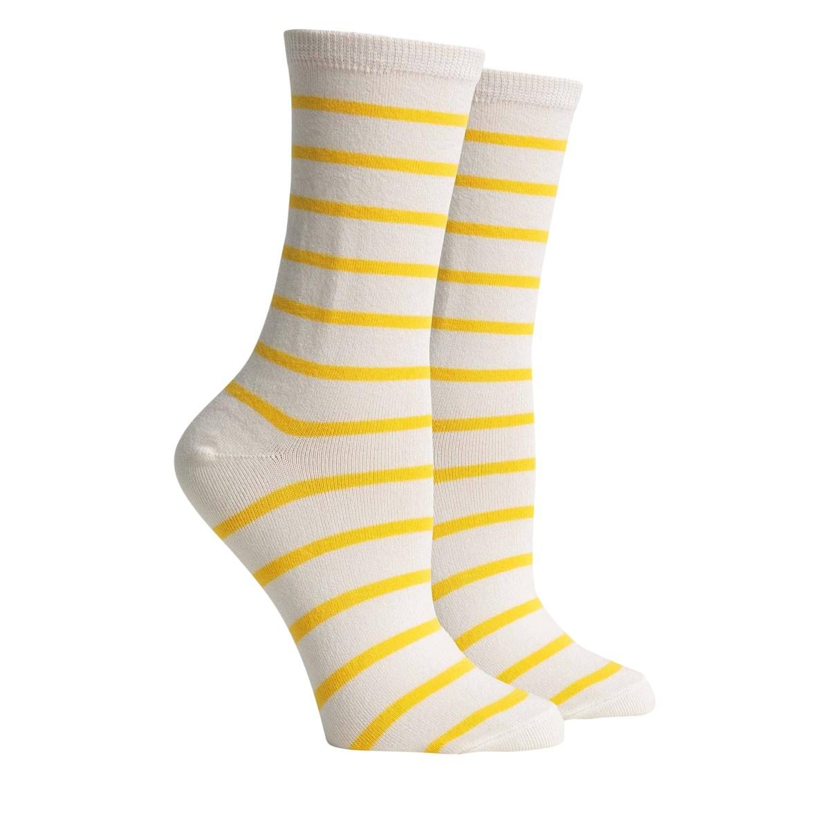 Women's Nora Socks in Yellow