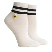 Women's Charlie Socks in Ivory