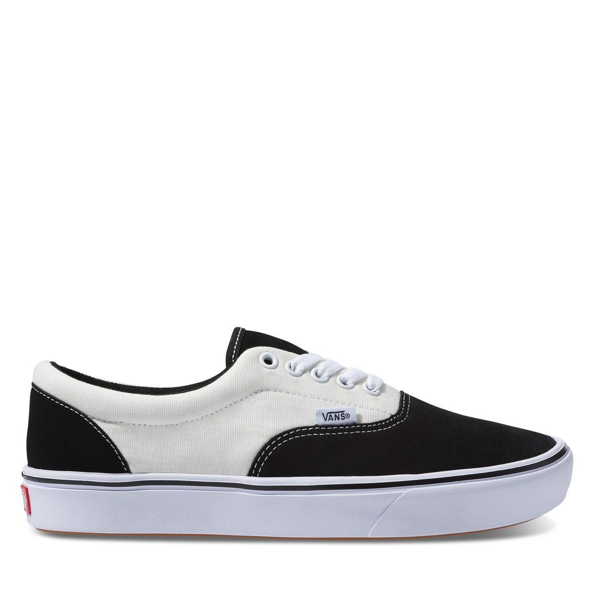 Men's Era ComfyCush  Sneaker in Black/White