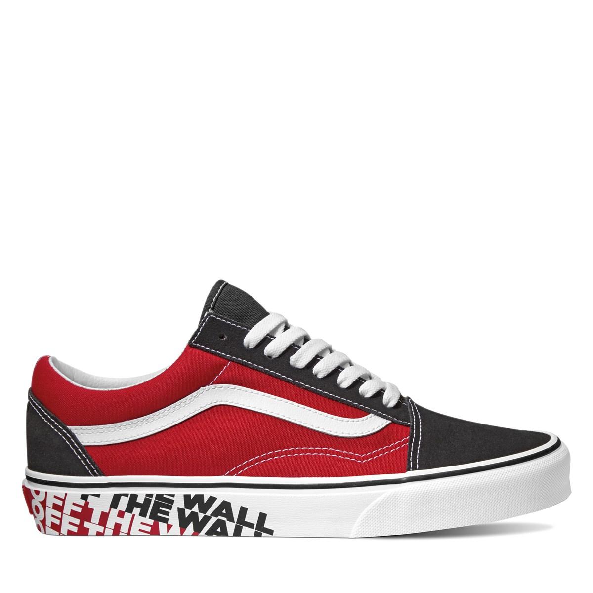 Men's Old Skool OTW Side Wall Red Sneaker