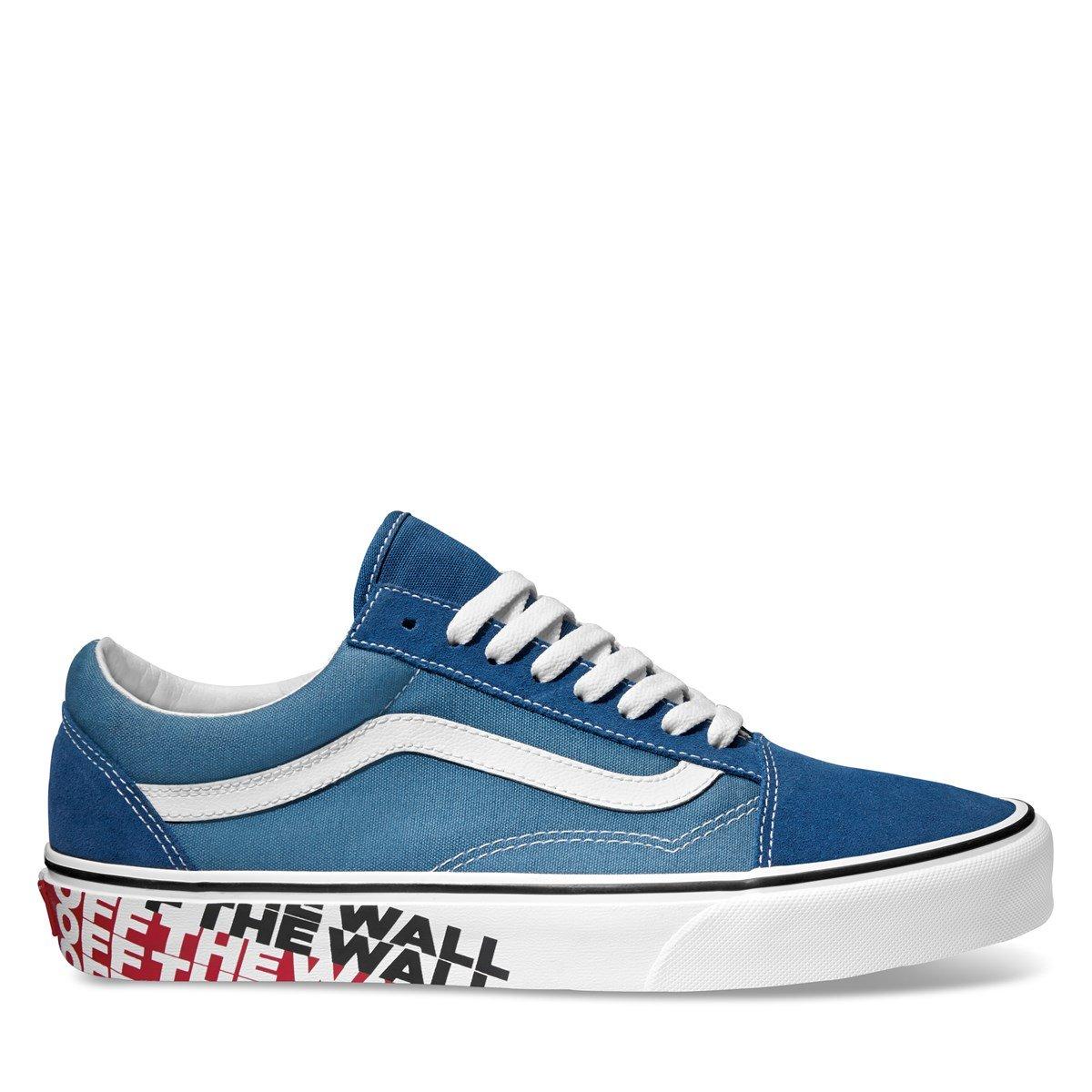 Men's Old Skool OTW Side Wall Blue Sneaker
