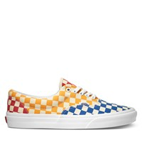Men's ERA Checkerboard Sneaker in Yellow and Blue