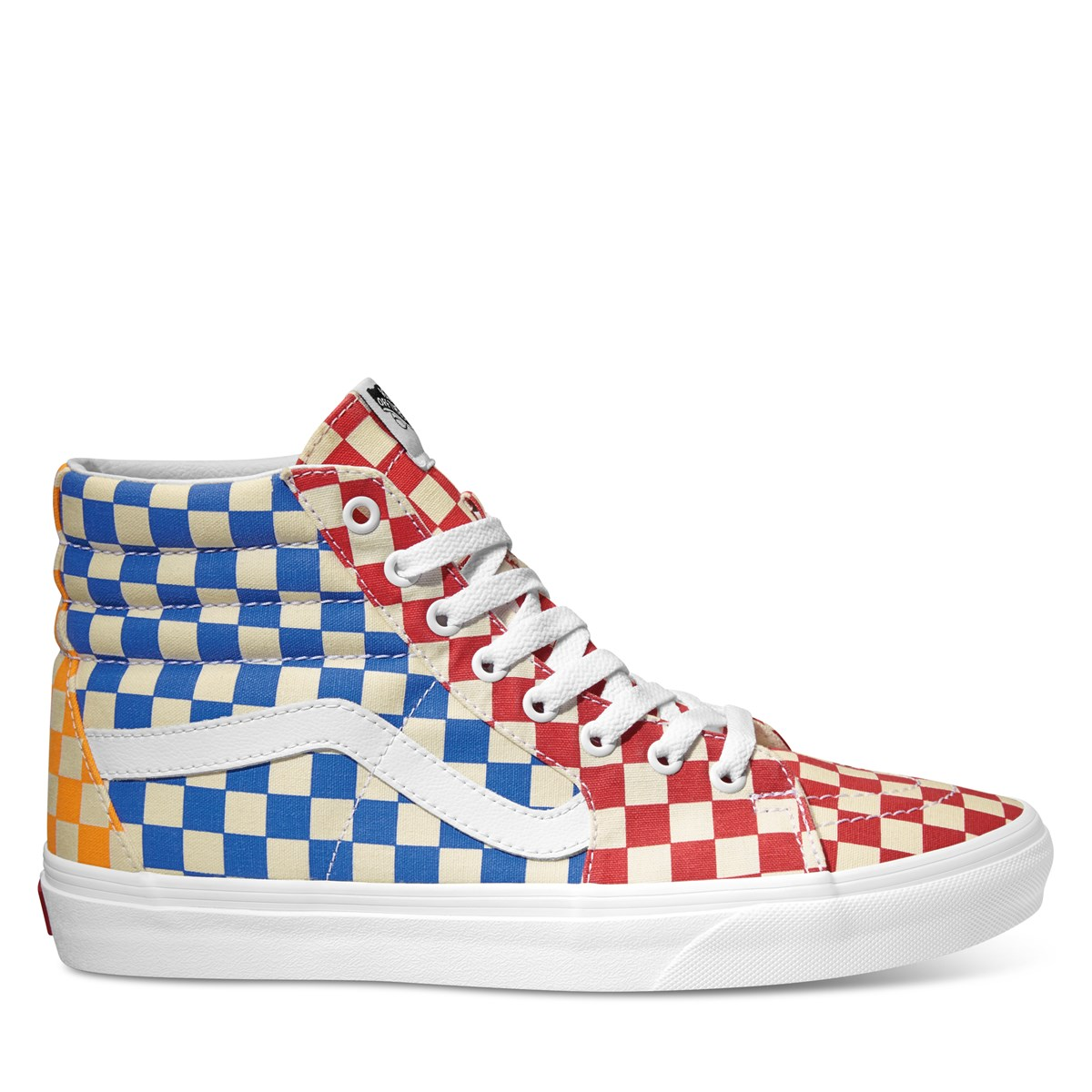 65552f1ed241 Men s Sk8-Hi Checkerboard Sneaker in Red and Blue