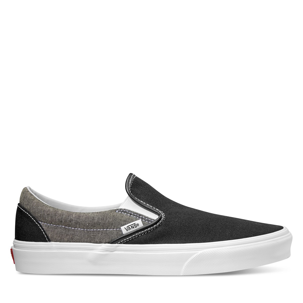 ae696e7833b Men s Classic Slip on in Black and Grey. Previous. default view · ALT1