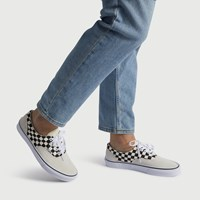 Men's Era  Checker Sneaker in White