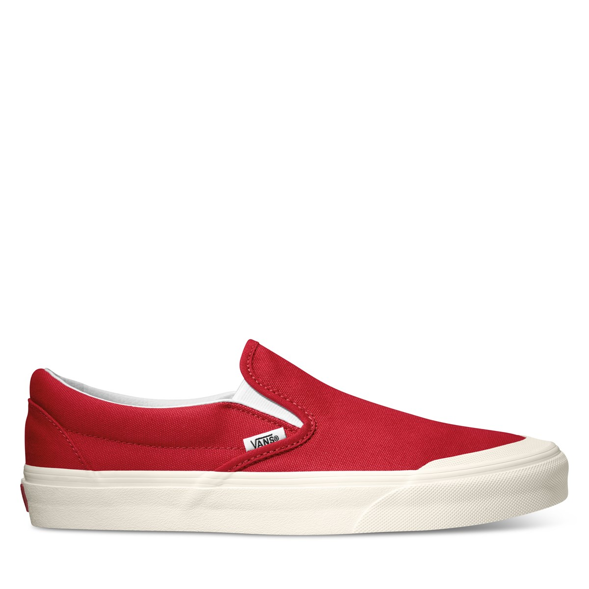 Men's Classic 138 Slip-On Sneakers in  Red