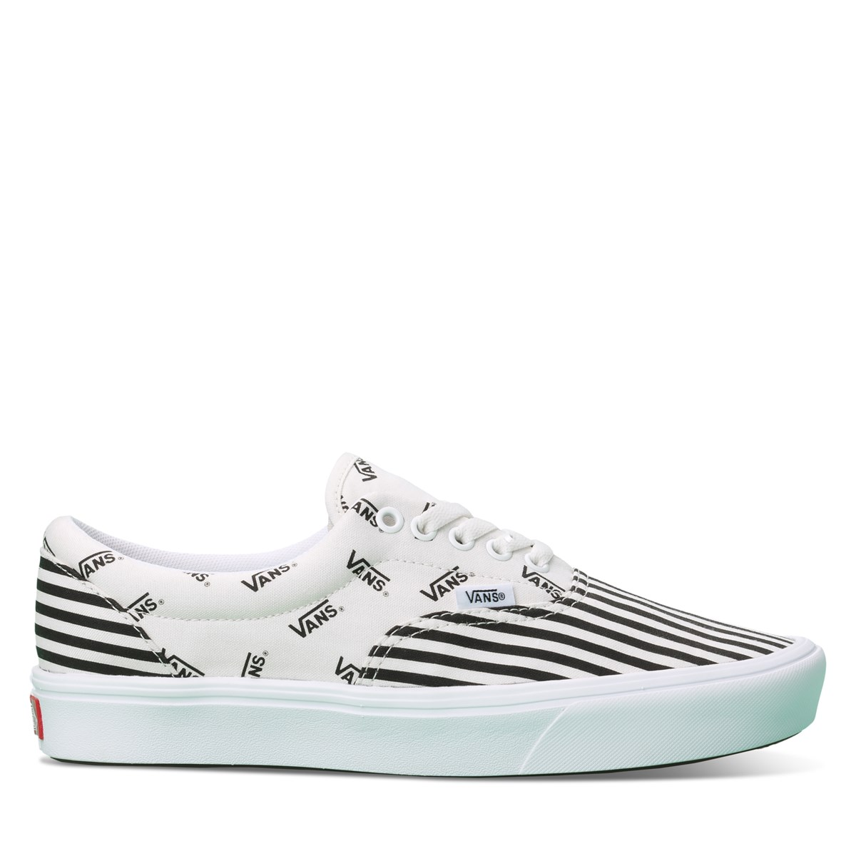 Women's ComfyCush Pinned Era Sneakers in White