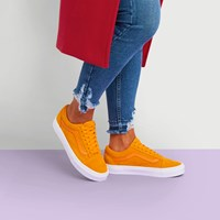 Women's Old Skool Sneakers in Orange