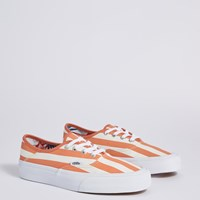 Women's Authentic Sneakers in Orange Stripes