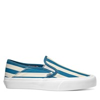 Women's Slip-Ons in Blue Stripes