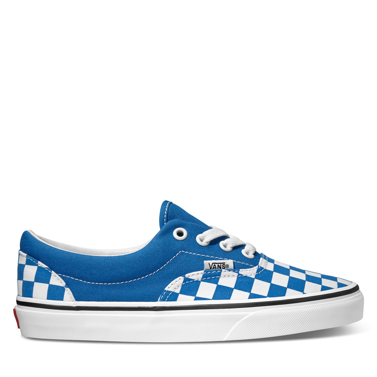 Women's Era Sneakers in Blue Checkerboard
