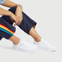 Women's Old Skool Platform Sneakers in White