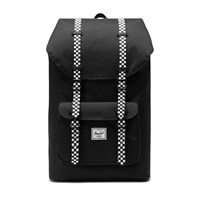 Little America Backpack in Black and Checker