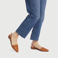 Women's Cory Flat in Brown