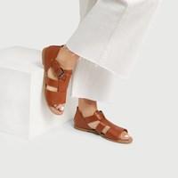 Sandales Eboni cognac pour femmes