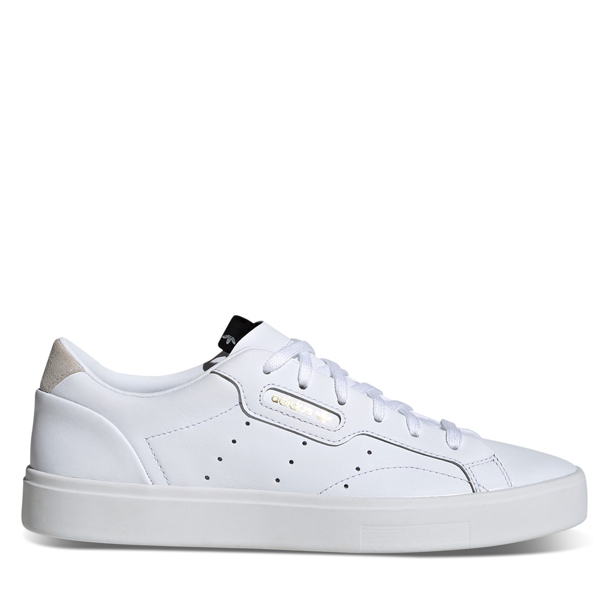 Women's Sleek Sneakers in White