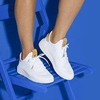 Women's Pharell Williams Tennis Sneakers in White