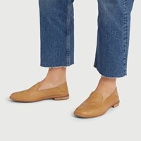 Women's Seaport Levy Loafers in Tan