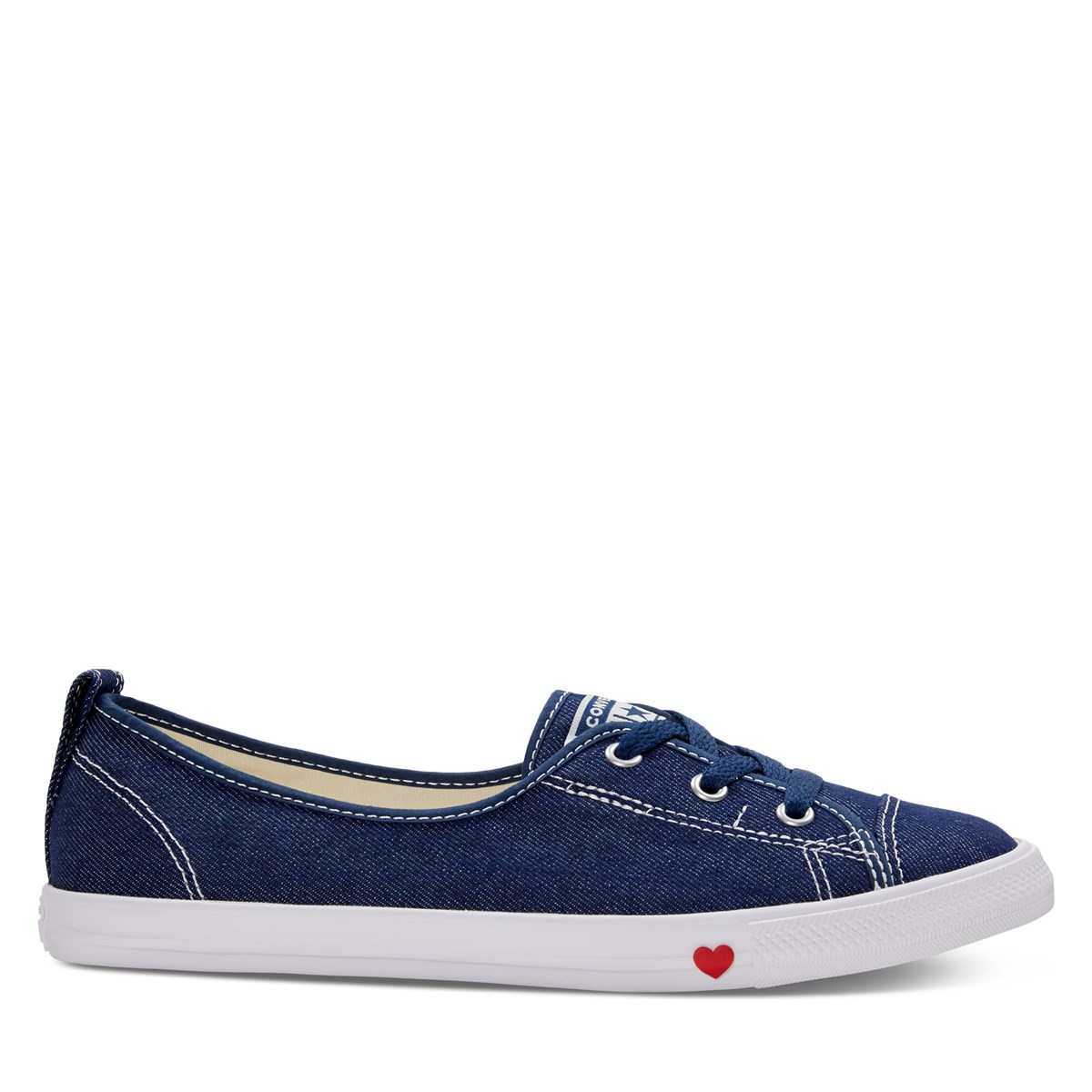 Women's Chuck Taylor All Star Ballet Slip-Ons in Navy