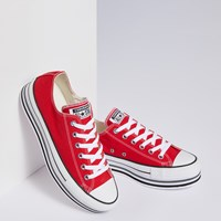 Women's CTAS Platform Sneakers in Red