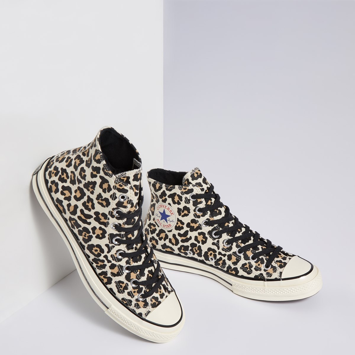 Women's Chuck 70 Vintage Hi Sneakers in Cheetah Print