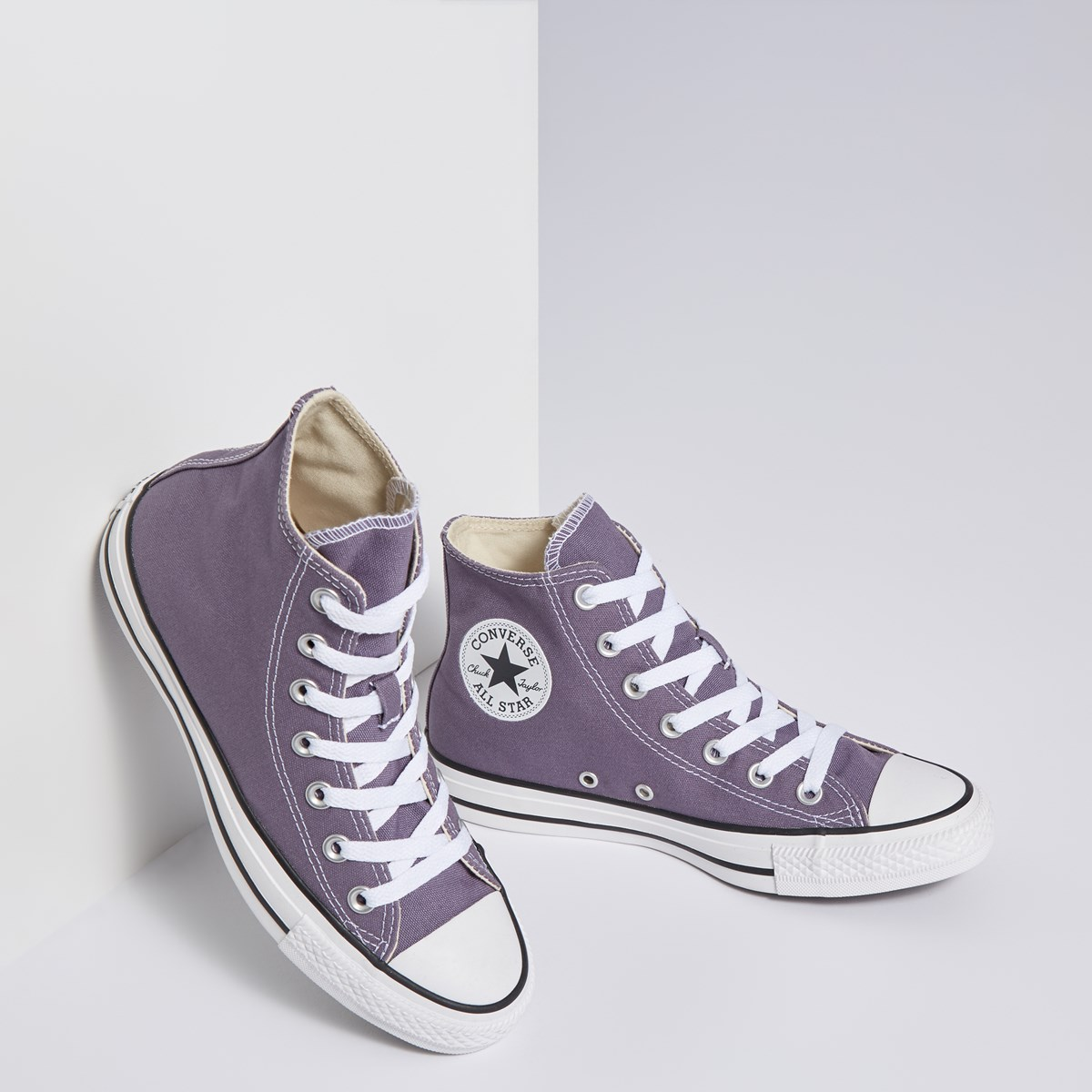 Women's Chuck Taylor All Star High-top Sneakers in Purple
