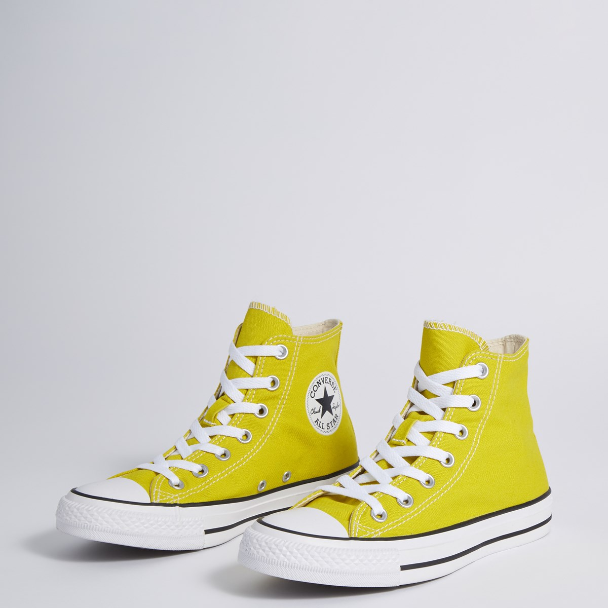 Women's Chuck Taylor All Star High-top Sneakers in Yellow