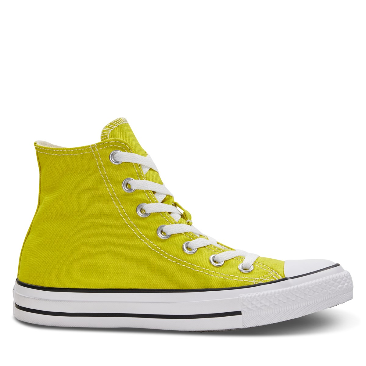 Women S Chuck Taylor All Star High Top Sneakers In Yellow