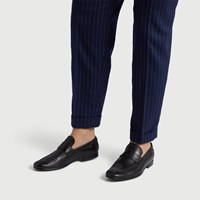 Men's Leo Loafer in Black