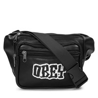 Better Days PU Waist Bag in Black