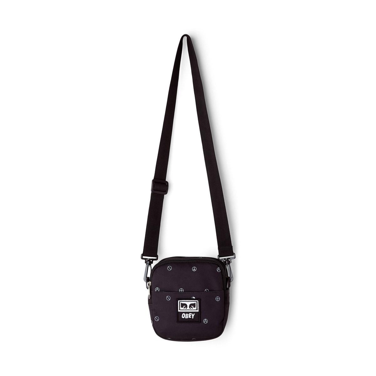 Drop Out Traveller bag in Black
