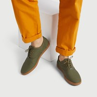 Men's Gustavo Lace up Shoe in Khaki