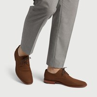 Men's Alberto Lace up Shoe in Tan