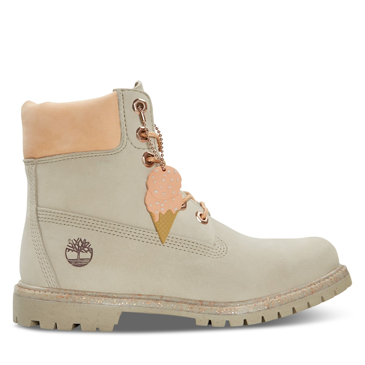 Women's 6 Inch Premium Boots in Taupe
