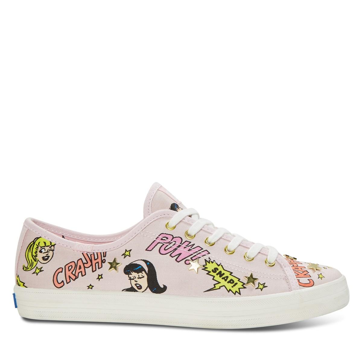 Women's Kickstart BV Canvas Sneaker in Pink