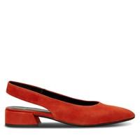 Chaussures à bride arrière Joyce tangerine pour femmes