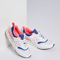Men's 997H Classic Sneaker in White/Blue