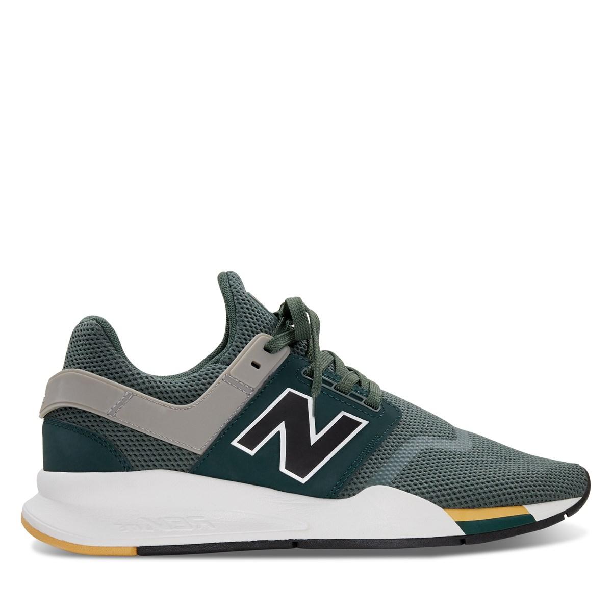 Men's 247 V2 Sneakers in Green