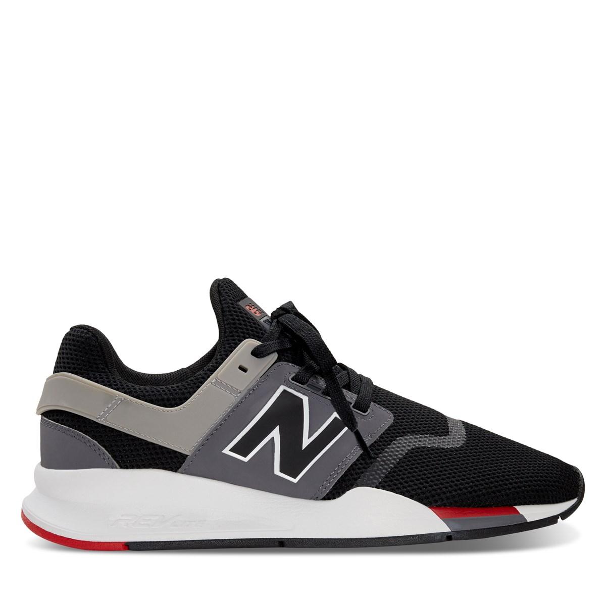 Men's 247 V2 Sneakers in Black