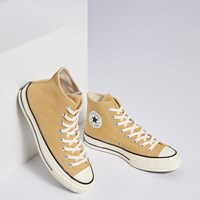 Chuck Taylor All Star 70 Vintage High Top Sneakers in Yellow
